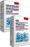 Kombi-Paket BGB Bürgerliches Recht + HGB, GmbHG, AktG, Wirtschaftsgesetze komp