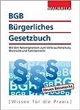 BGB - Bürgerliches Gesetzbuch Ausgabe 2018/2019: Mit den Nebengesetzen zum Verbraucherschutz, Mietrecht und Familienrech