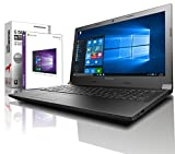 Lenovo (15,6 Zoll) Notebook (AMD A4-9125 Dual Core 2x2.6 GHz, 4GB DDR4 RAM, 1000GB HDD, Radeon R3, HDMI, Webcam, Bluetooth, USB 3.0, WLAN, Windows 10 Prof. 64 Bit, MS Office 2010 Starter) #6027
