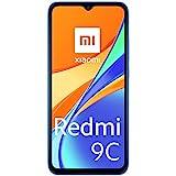 Xiaomi Redmi 9C Smartphone 2GB 32GB 6.53' HD+ Dot Drop Display 5000mAh (typ) AI Face Unlock 13 MP AI Triple Kamera Blau