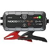 NOCO Boost Plus GB40 1000A 12V UltraSafe Starthilfe Powerbank, Tragbare Auto Batterie Booster, Starthilfekabel und Überbrückungskabel für bis zu 6-Liter-Benzin- und 3-Liter-Dieselmotor