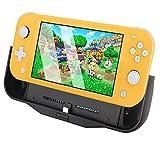 BigBlue 6000mAh Akku-Ladegerät für Nintendo Switch Lite, Tragbare Powerbank SwitchCharge mit Typ-C-Anschluss, Anpassbarer Ständer und Card Steckplatz, Akku Hülle für Nintendo Switch L