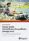 Praxis–Guide Betriebliches Gesundheitsmanagement: Tools und Techniken für eine erfolgreiche Gesundheitsförderung am Arbeitsplatz