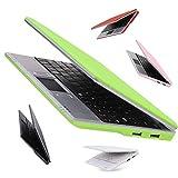 Mini-Laptop, 4GB, 7Zoll, Netbook, Android 4.0(Ice Cream Sandwich OS), mit Webcam für Skype, Ladegerät mit UK-Stecker, kompatibel mit BBC iPlayer/Youtube/Facebook grü
